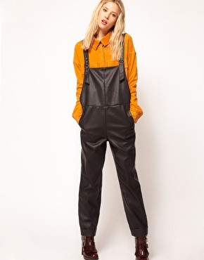 dungarees Nod to the 90's During Fashion Week