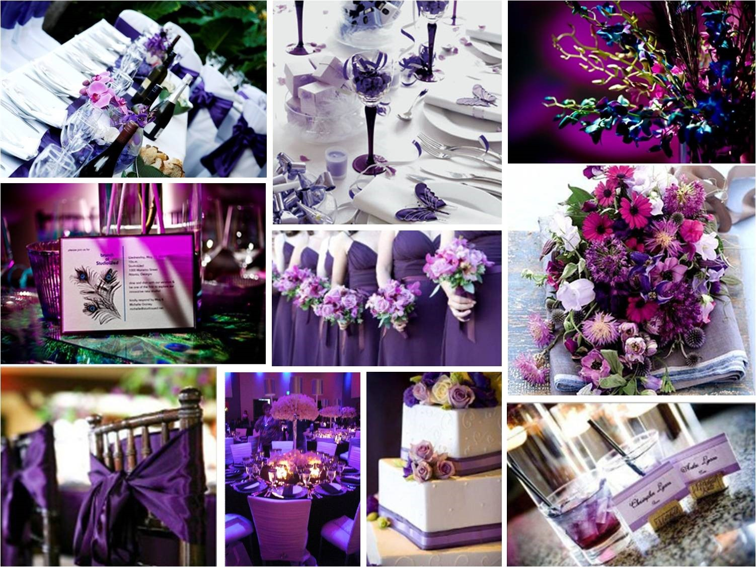 Jessica hart 10 tips for a beautiful wedding theme for Top ten wedding themes
