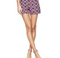 Sassy Style with Printed Shorts